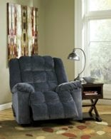 Cub Blue Rocker Recliner