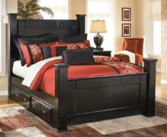 Fuze 4pc King Bed