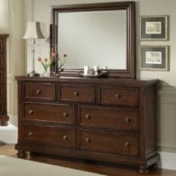 Houston 2pc Dresser and Mirror