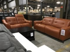 1802828 2pc Power Sofa and Loveseat
