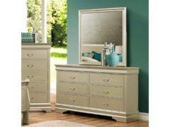 Shimmer 2pc Dresser & Mirror