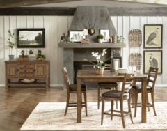 Sydwell 5pc Counter Height Dining Room